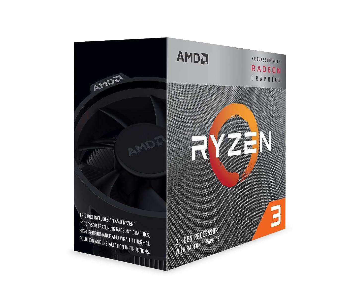規制するスクリーチ学校教育AMD Ryzen 3 3200G with Wraith Stealth cooler 3.6GHz 4コア / 4スレッド 65W【国内正規代理店品】 YD3200C5FHBOX