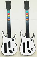 Nintendo Wii U and Wii Rock Band 3 TWO GUITARS ONLY Controllers Guitar Hero green day 2 Beatles