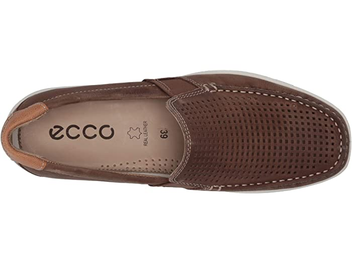 ECCO Reciprico Moc Perforated | Zappos.com