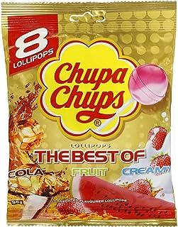 5 Pack of Chupa Chups Lollipops Best of 8pk 96g