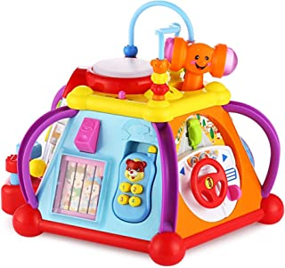 Popsugar Multipurpose Puzzle Toy Baby Cube Play Centre - Colorful