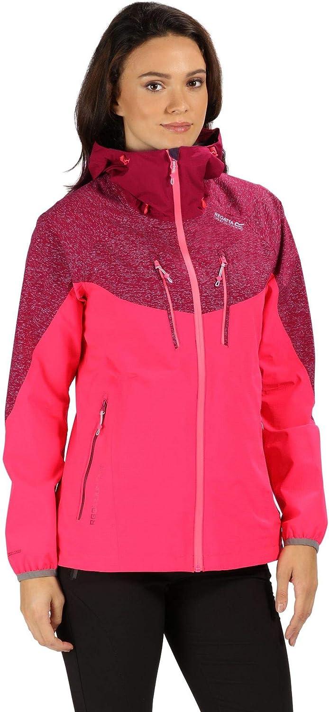 Regatta Womens Harty II Stretchy Full Zip Softshell Coat