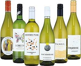 酒のダイナミック 世界のシャルドネ 辛口 白ワイン 飲み比べ 6本セット (シャルドネ種100%) 750mlx6本