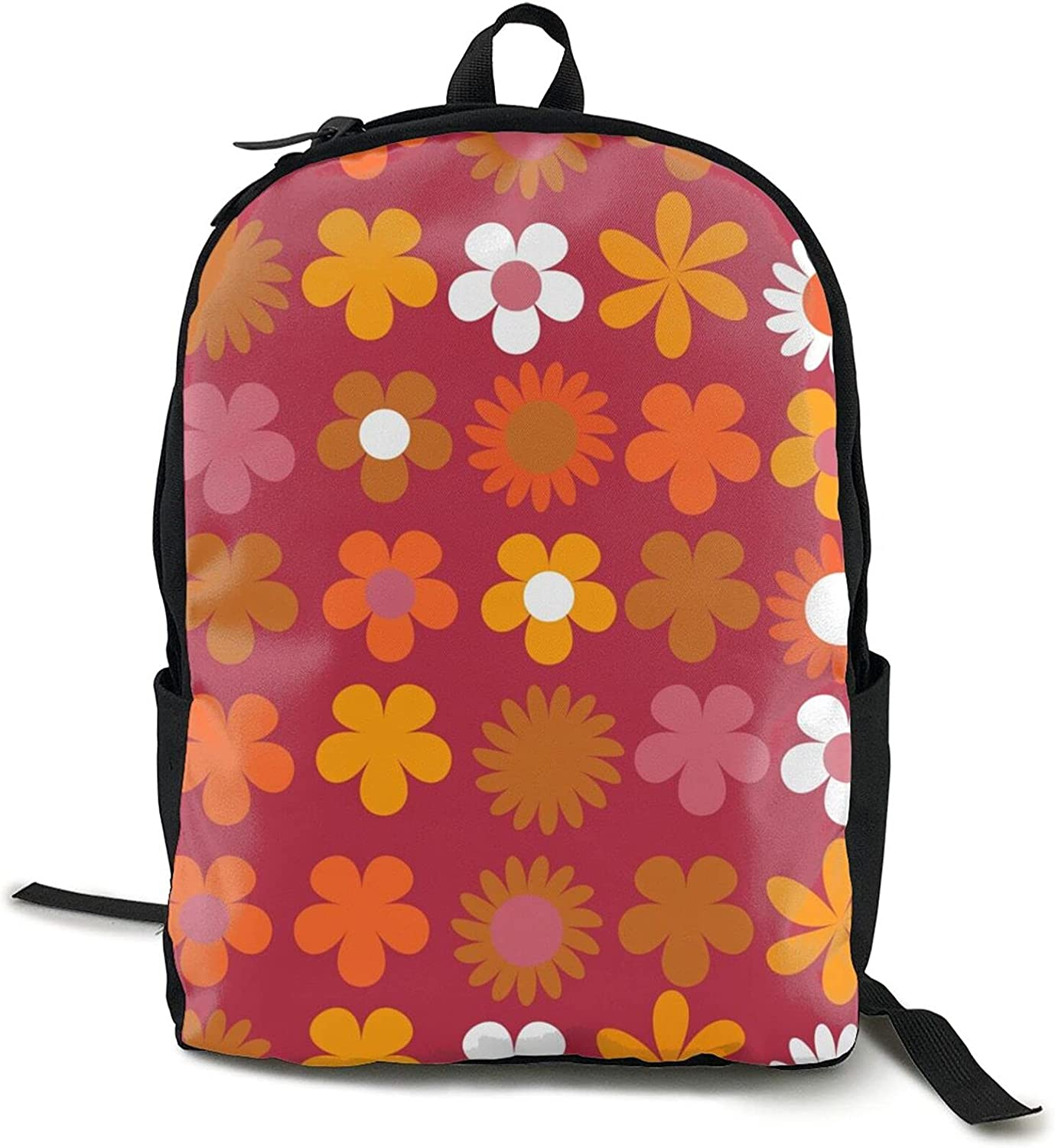 Colorful floral retro flowers pattern small Adult 1 SEAL limited product unisex cute