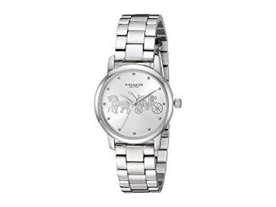 COACH Grand 14502975 (Silver White) Watches
