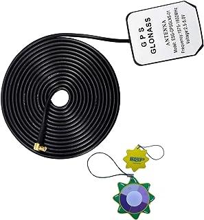 HQRP Antena externa GPS amplificada 1575.42 MHz de montaje magnético para Garmin Nuvi 610 (010-00540-01) / Garmin Nuvi 650...