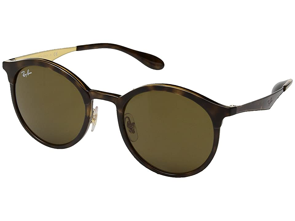 Ray-Ban RB4277 Emma 51mm (Havana/Dark Brown) Fashion Sunglasses