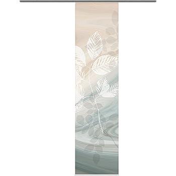 color rosa Home Fashion 87933-723 Blossom 245 x 60 cm, con impresi/ón digital Panel japon/és