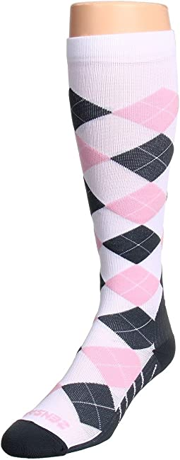 Zensah - Argyle Compression Socks