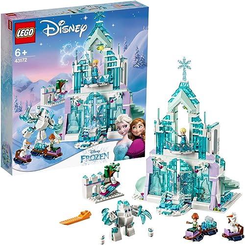alta calidad LEGO Disney Princess - Palacio mágico de hielo de de de Elsa, Castillo de Princesas de Juguete para construir, Novedad 2019 (43172)  gran venta