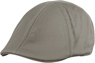 FREE Shipping on eligible orders. NYFASHION101 Fashionable Solid Color  Unisex Cotton Duck Bill Newsboy Ivy Cap 4c0dda1e08e8