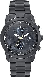 Fastrack Go Skate Analog Black Dial Men's Watch-3216NM01