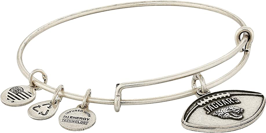 Alex and Ani Womens NFL Jacksonville Jaguars Football Bangle