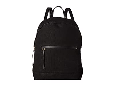Madewell The Charleston Backpack (True Black) Backpack Bags