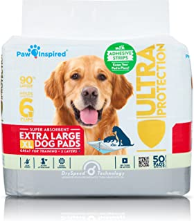Paw Inspired Ultra Protection XL Extra Large Puppy Training Pads