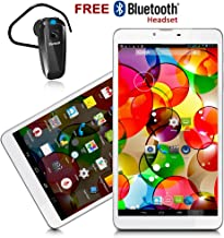 Indigi® 3G Phablet 7in Android 4.4 Tablet Phone Google Play Store FREE Bluetooth Headset
