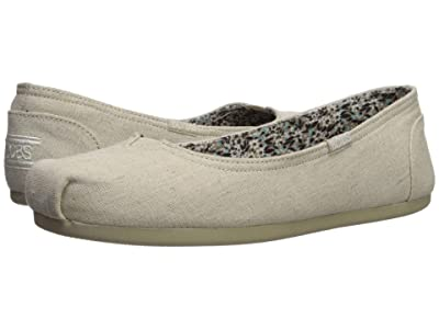 BOBS from SKECHERS Bobs Plush Center Stage (Natural) Women