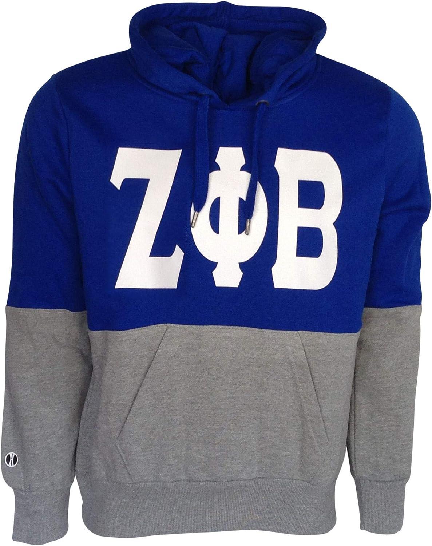 OFFicial site San Diego Mall Mega Greek Womens Zeta Phi Sweatshirt Beta Hooded Ration