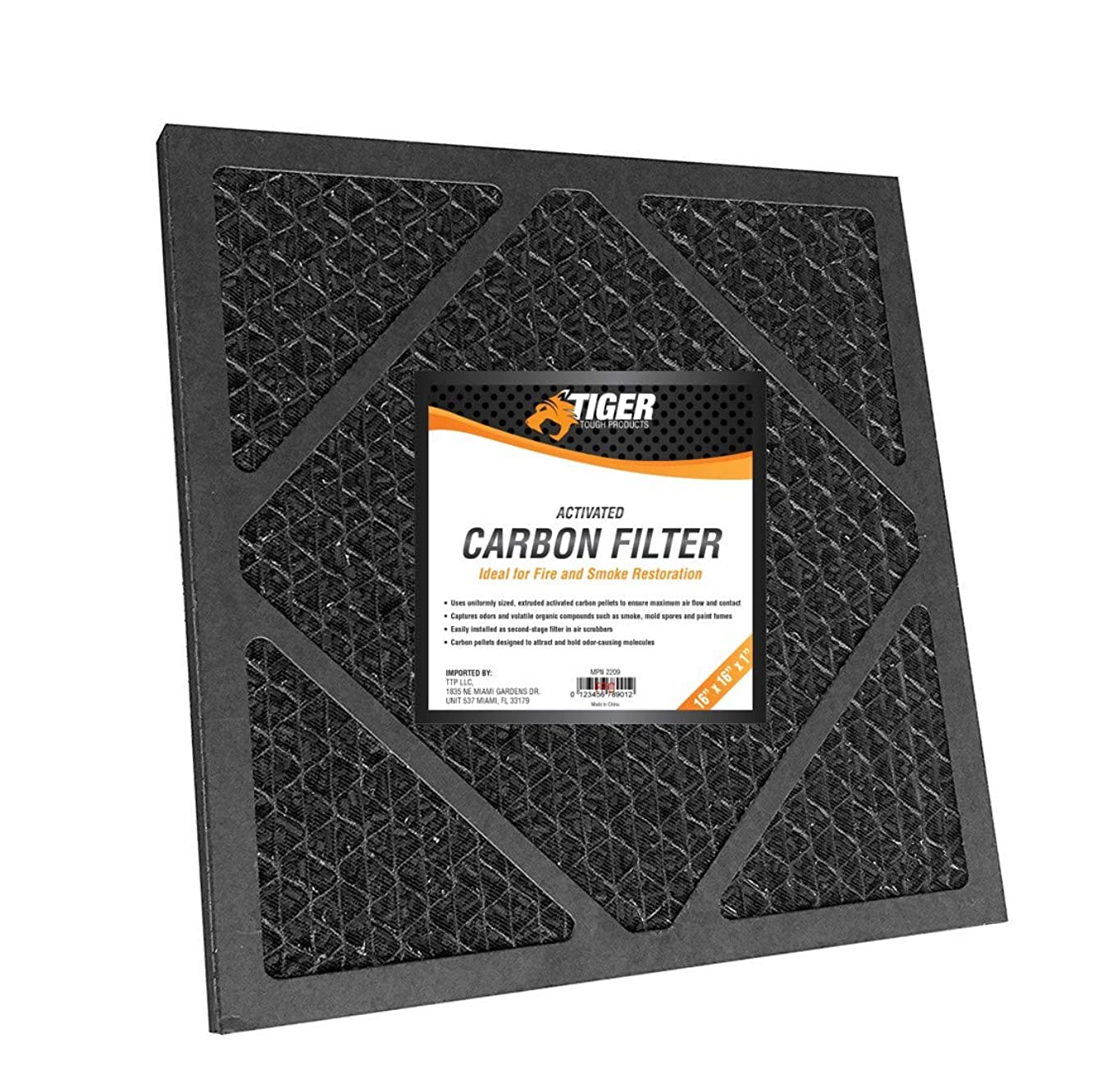 Tiger Tough HEPA 500 Activated Carbon Filter for Air Scrubbers - Dri-Eaz F397 Compatible (1)
