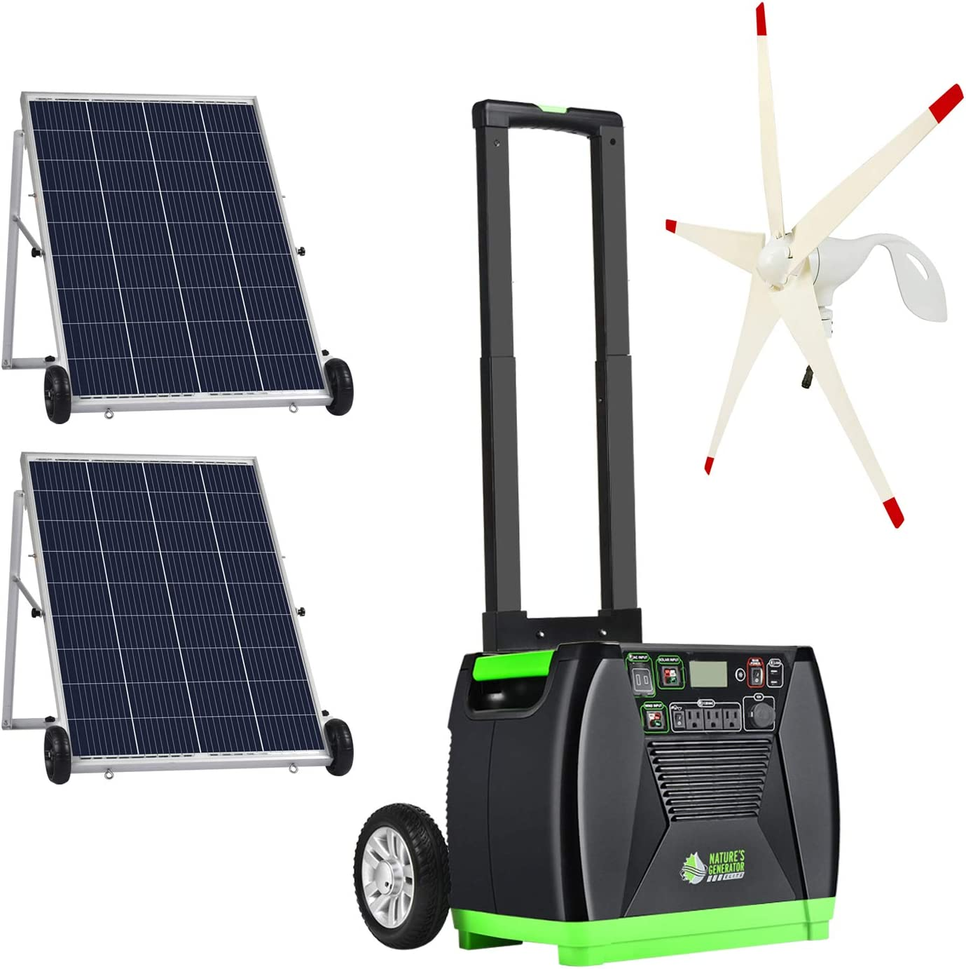 Our shop most popular Nature's Generator Elite Gold - Wind Pow System:3600W Solar Import WE
