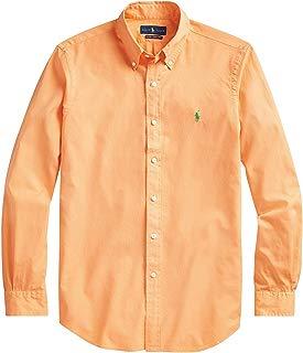 Polo Ralph Lauren Men's Big and Tall Men's Classic Fit Button Down Shirt Long Sleeve