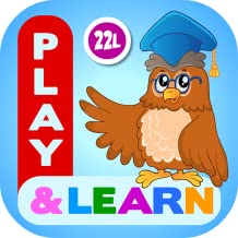 Preschool Learning Games for Toddlers, Kindergarten Kids and 1st Grade Girls and Boys: Tracing, Spelling, Reading, Letter Sounds and Names, Phonics, First Words, Shapes, Colors, Pumpkin Puzzles, Memory Games & Coloring Book by Abby Monkey®