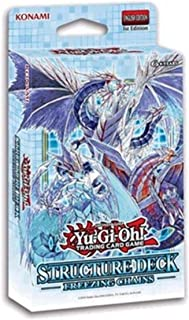 Yu-Gi-Oh! Trading Cards Freezing Chains Structure Deck, Multicolor, one Size