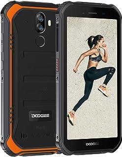 DOOGEE S40 アウトドア スマートフォン 4G SIMフリー スマホ本体 Android 9.0 IP68 防水 防塵 耐衝撃 スマートフォン本体 3GB RAM+32GB ROM 4650mAh大容量バッテリー 5.5インチ HD 全...