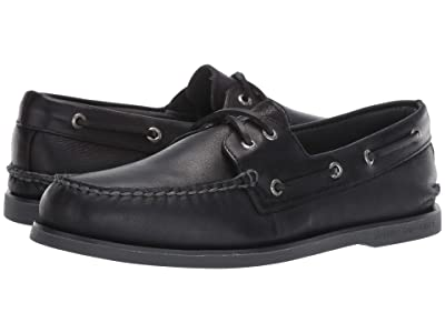 Sperry Gold Cup A/O 2-Eye Rivington (Black) Men