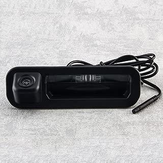 Backup Camera with Tailgate Handle for Universal Monitors (RCA),Rear View Reverse Parking Camera for Focus Turnier Mk3 2012-2014 / Focus Hatchback Sedan/Focus SE/Focus ST/Focus 2/Focus 3 2012-2014