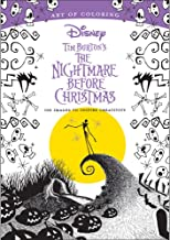 Art Of Coloring Disney's Nightmare Before Christmas 128 Page Holiday Book