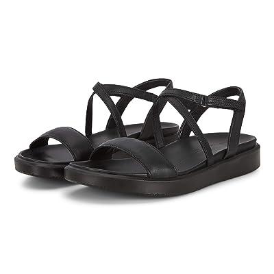 ECCO Flowt LX Strap Sandal (Black Cow Leather) Women