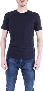 Emporio Armani Luxury Fashion Mens 8N1M8A1JCDZ922 Blue T-Shirt | Fall Winter 19