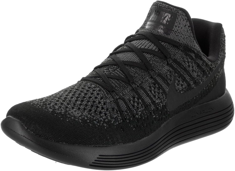 Nike Herren LUNAREPIC niedrig Flyknit 2 schwarz schwarz dunkelgrau Laufschuhe 8.5 Herren US B072P39LWR Leicht zu reinigende Oberfläche