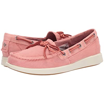 Sperry Oasis Canal Canvas (Nantucket Red) Women