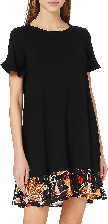 excellence Desigual Women's Woman Knit Short Sleeve Regular discount Dress