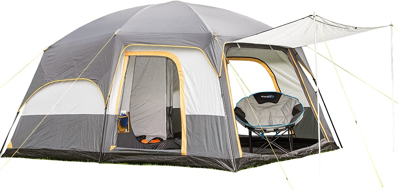 Skandika Weatherproof Tonsberg Unisex Outdoor Dome Tent