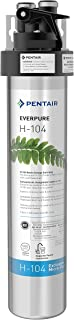 Everpure H-104 Drinking Water Filter System (EV9262-71). Quick Change Cartridge System. Commercial Grade Water Filtration and Lead Reduction