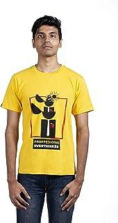 Cazzkaro Professional Overthinker Half Sleeve Unisex T-Shirts