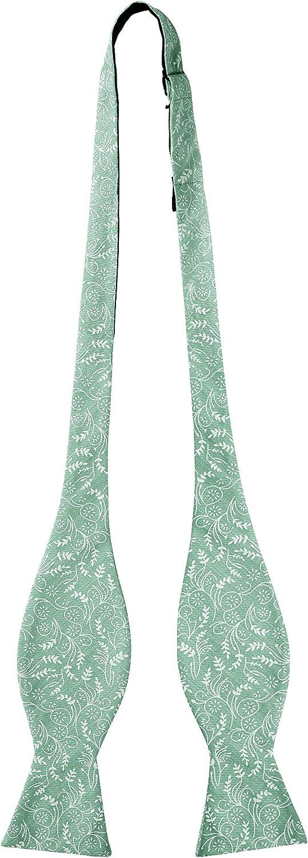 Jacob Alexander Men's Self Tie Freestyle Floral Bow Tie