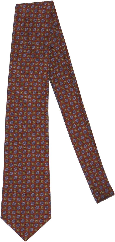 Peter Millar Men's Printed Flowerbox Neat Silk Tie