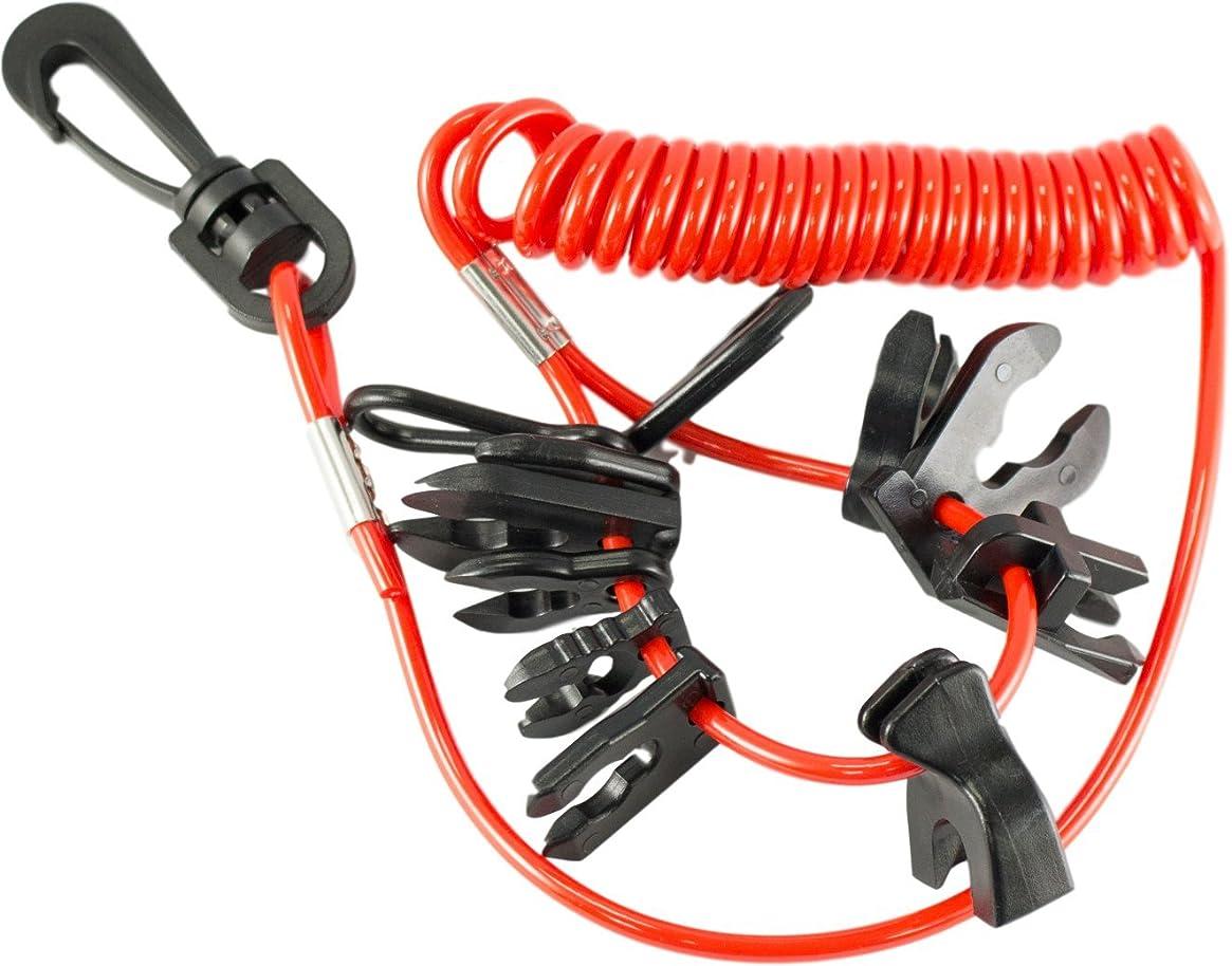DTLGear Universal OutBoard Kill Switch Keys - 11 keys & lanyard - 60