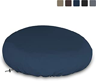COVERS & ALL Outdoor Daybed Cover 12 Oz Waterproof - 100% UV & Weather Resistant Patio Furniture Cover with Air Pockets and Drawstring for Snug fit (Blue)