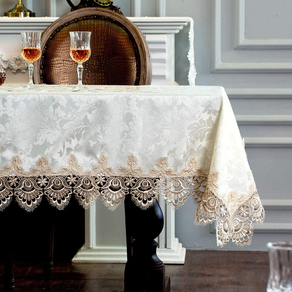 ARTABLE Lace OFFicial Table Cloth Rectangle Popular standard Antique Flower M Decor Spring