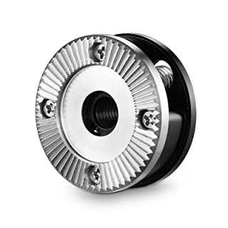SMALLRIG Standard Rosette Bolt-On Mount (M6 Thread, 31.8 Diameter) for Camera Cage and Accessories - 1939