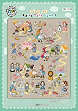 SO-G130 Fairy Tale Land 1, SODA Cross Stitch Pattern leaflet, authentic Korean cross stitch design chart color printed on coated paper