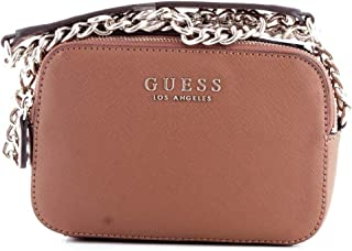 Luxury Fashion | Guess Womens HWEV7180140COGNAC Brown Shoulder Bag | Fall Winter 19