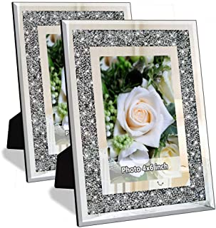 Details about  /SILVER pressed metal bubbly photo frame HANG OR STAND rrp $34.95 HOME DECOR