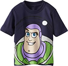 Disney Boys' Buzz Lightyear and Woody Big Face Toy Story T-Shirt