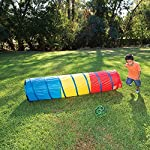 Pacific Play Tents Kids 6 Foot Find Me Crawl Tunnel, Green, Blue, & Red 6
